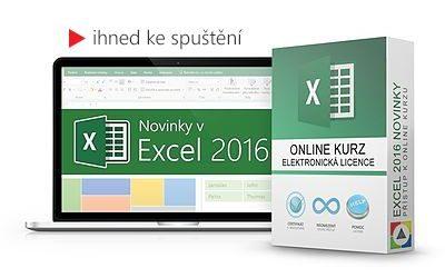 Novinky v Excel 2016