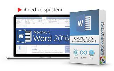 Novinky ve Word 2016