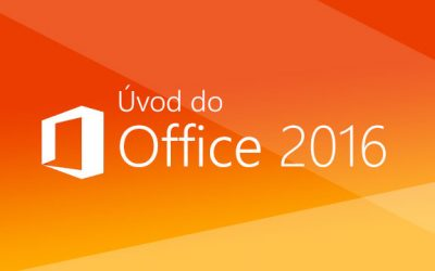 Úvod do Office 2016