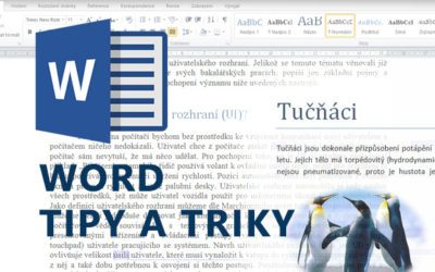 Word - tipy a triky