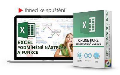 Excel - Podmíněné nástroje a funkce