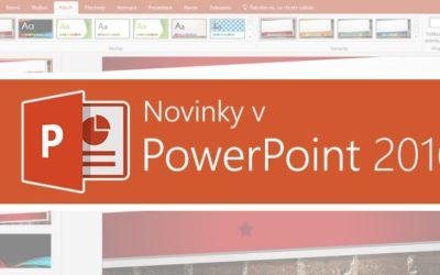 Novinky v PowerPoint 2016