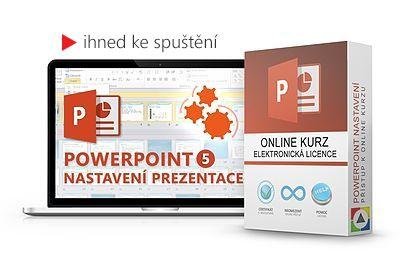 PowerPoint – Nastavení prezentace