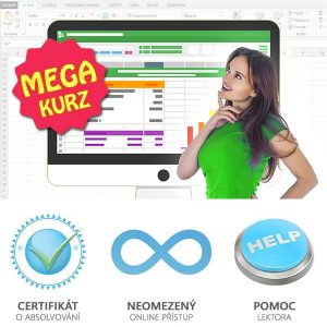 MEGA online kurz Excelu