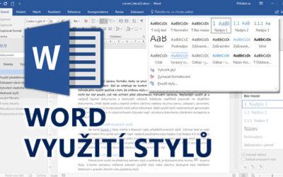 Word - Využití stylů