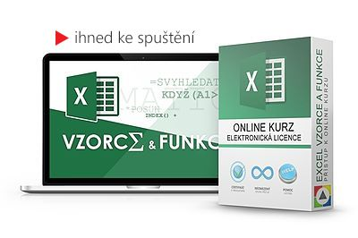 Excel – Vzorce a funkce