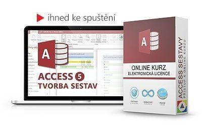 Access - Tvorba sestav