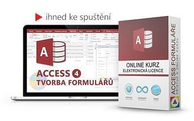 Access - Tvorba formulářů