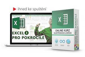 Online kurz Excel pro pokročilé
