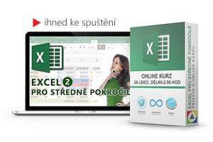Excel – Pro středně pokročilé