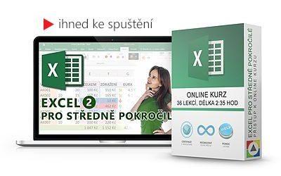 Excel - Pro středně pokročilé