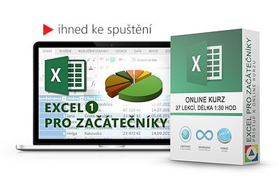 Online kurz Excel pro začátečníky