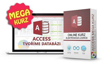Access - Tvoříme databázi