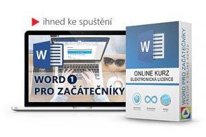 Online kurz Word pro začátečníky