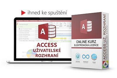 Access – Uživatelské rozhraní