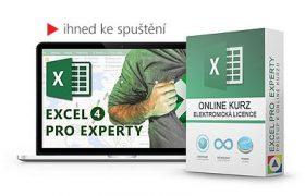 online kurz excel pro experty