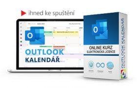 Online kurz Outlook Kalendář