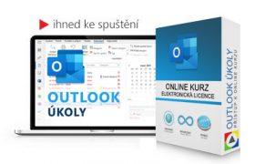 Online kurz Outlook Úkoly