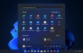 Windows 11 panel Start