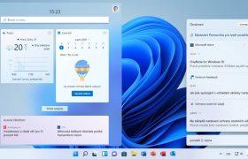 Windows 11 Widgety a oznámení